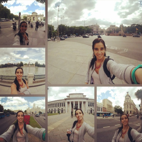 #selfies en Madrid