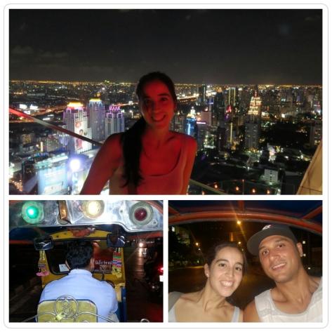 En el centro de Bangkok
