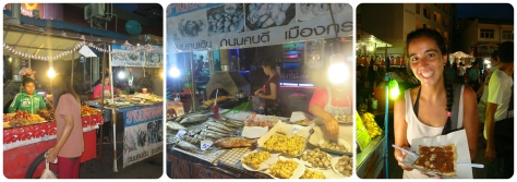 Mas del mercado de fin de semana de Krabi