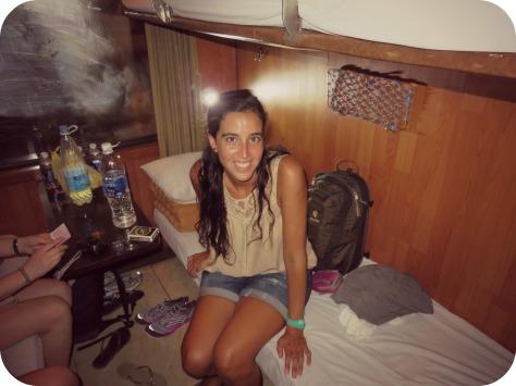 Mi primera noche en un tren!