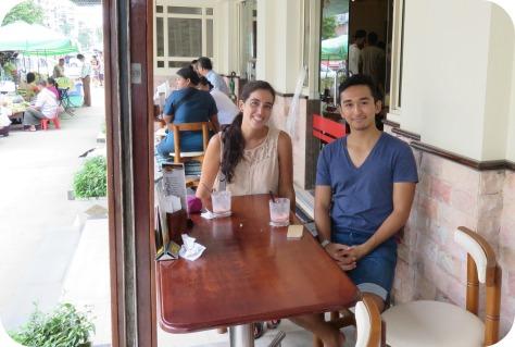 Con Aung, gracias por todo!