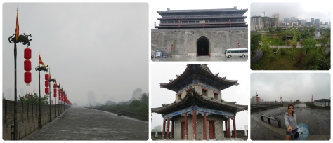 La muralla de Xi'an.