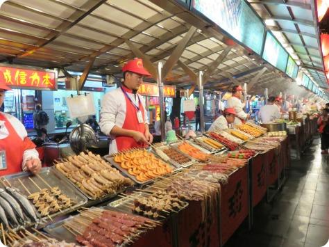 Night Market en Beijing