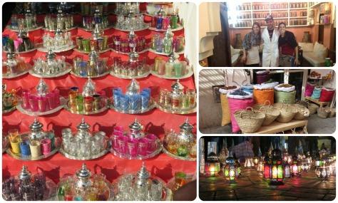 Muchas teteras, Moustafa y los colores de Marruecos
