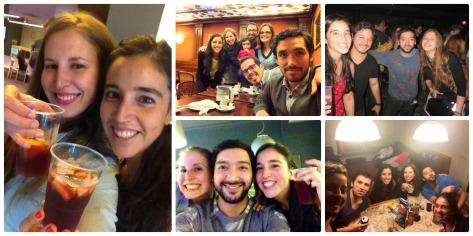 Amigos en Barcelona!