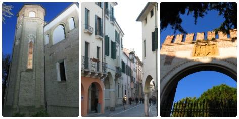 La primera es la capilla, lo otro es Padua