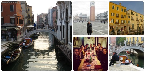 Venecia y el grupo