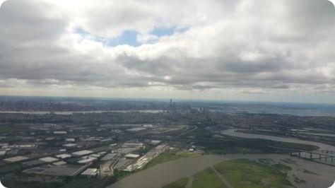 New York desde el avión
