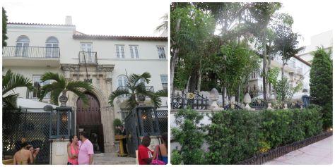 La antigua casa de Versace.