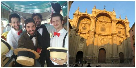 El cuarteto del amor y la catedral de Granada